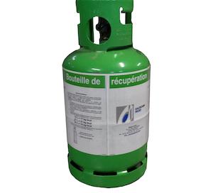 bouteille de récupération fluide frigorigène